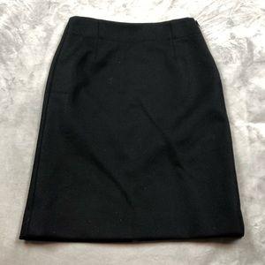 J Crew 100% wool classic skirt